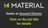 Material seeks an account director
